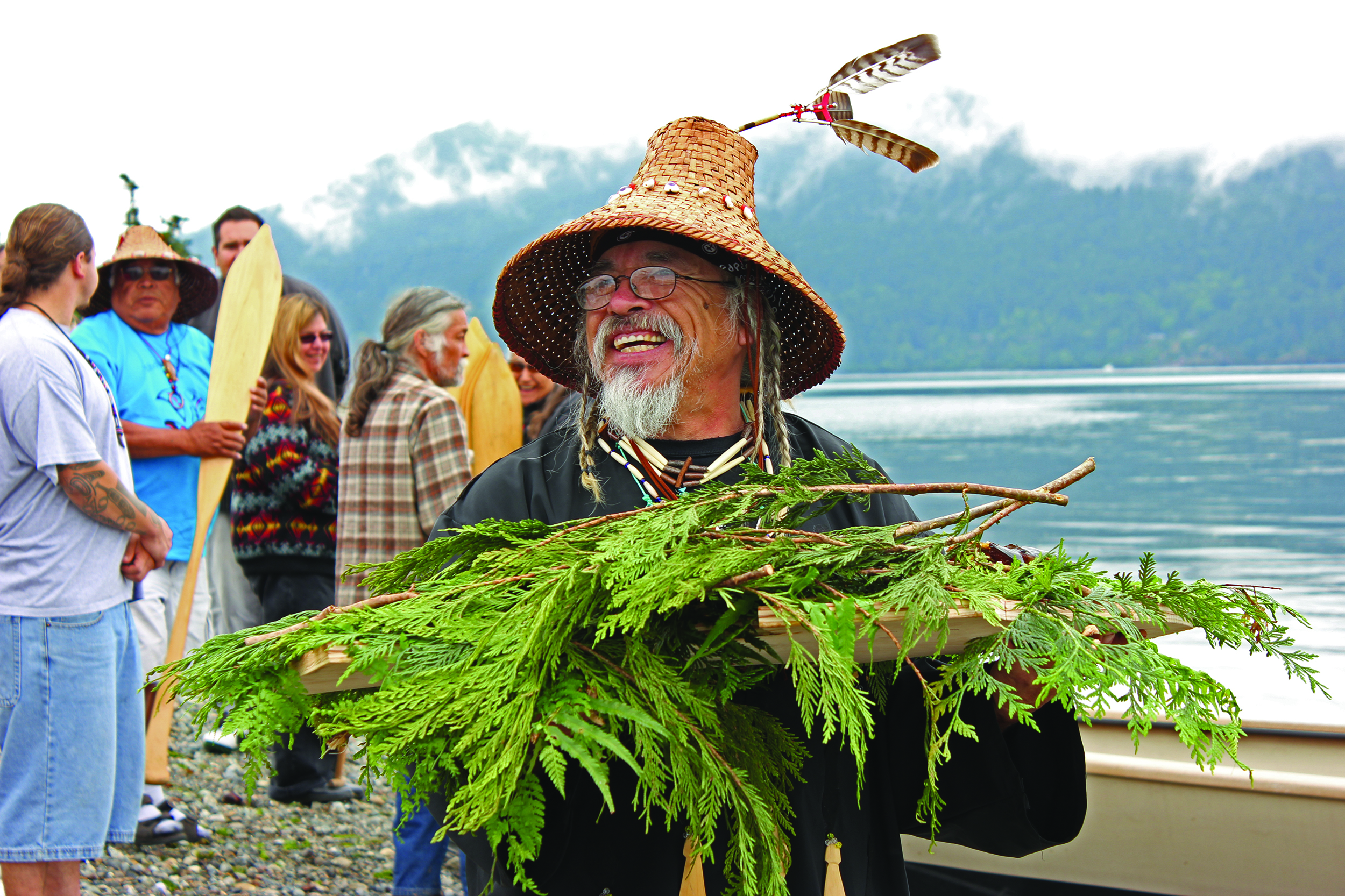 Figure 24.6  Tribes in the Northwest typically honor the first salmon  caught in the season through Tribal … 2cc07dc82cab